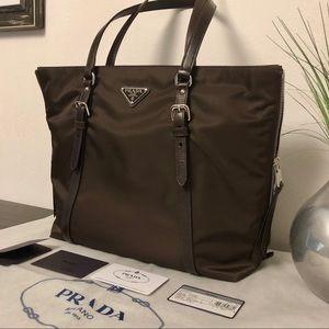 Prada Nylon Tote Bag Brand New
